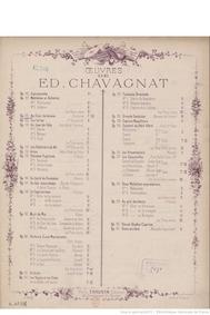 Au Clair de la lune (Fantaisie) : Comple... Volume Op.102 by Chavagnat, Edouard