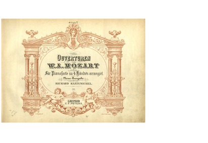 Die Zauberflöte (The Magic Flute) : Comp... Volume K.620 by Mozart, Wolfgang Amadeus