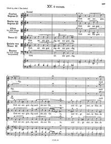 Gott sei mir gnädig : Complete score by Schein, Johann Hermann