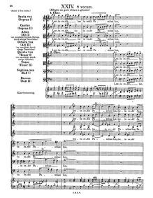 Laeta redit Paschae lux : Complete score by Schein, Johann Hermann