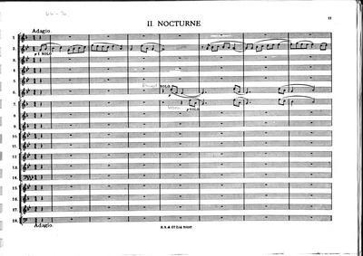 A Moorside Suite : II. Nocturne Volume H.173 by Holst, Gustav