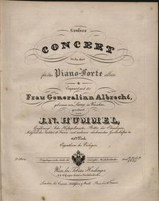 Piano Concerto No.5 in A-flat major, Op.... Volume Op.113 by Hummel, Johann Nepomuk