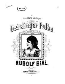 Geistinger Polka : Complete Score by Bial, Rudolf