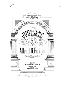 Jubilate and Gloria in E major : Complet... by Ron, Alfred George