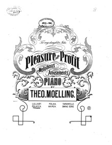 Pleasure and Profit (6 Melodious Amuseme... by Moelling, Theodore