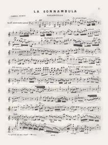 Souvenir sur La Sonnambula variato : Cel... by Curti, Carlo