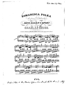 Romanesca Polka : Complete Score by Grube, Charles H.