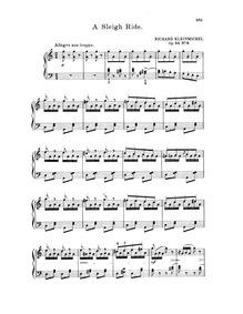 Silhouetten (12 leichte Klavierstücke f.... Volume Op.44 by Kleinmichel, Richard