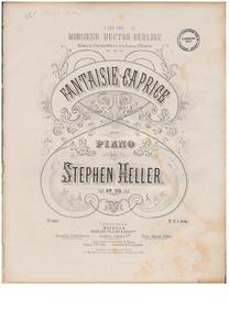 Fantaisie-Caprice, Op.113 : Complete Sco... Volume Op.113 by Heller, Stephen
