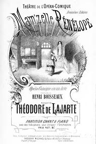 Mam'zelle Pénélope (Opéra-comique en un ... by Lajarte, Théodore de