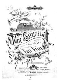 Valse capricieuse (Hommage à Johann Stra... by Pabst, Paul