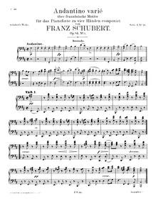 Divertissement à la française, D.823 : 2... Volume D.823 (1st movement: op. 63; 2nd and 3rd movement: op. 84) by Schubert, Franz