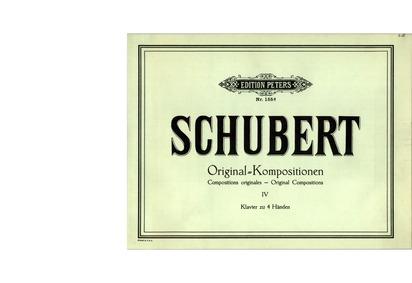 Kindermarsch, D.928 (Children's March in... Volume D.928 by Schubert, Franz