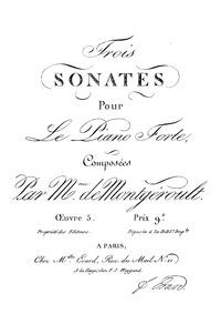 Piano Sonata, Op.5 No.2 : Complete Score Volume Op.5 No.2 by Montgeroult, Hélène