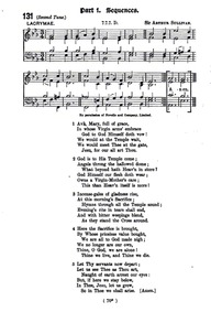 Ave Maria : Complete Score by Sullivan, Arthur