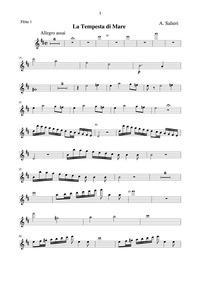La Tempesta di Mare (Ouverture zur Oper ... by Salieri, Antonio