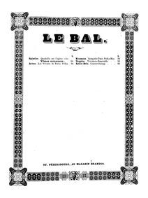 Courier-Galopp, Op.19 : Complete Score by Kéler, Béla