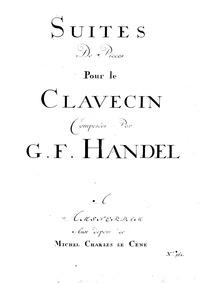 8 Great Suites (1720) (Suites de Pieces ... by Handel, George Frideric