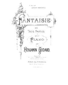 Fantaisie, Op.143 : Complete Score Volume Op.143 by Godard, Benjamin