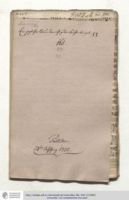 Ein jeglicher Baum der nicht gute Frücht... Volume GWV 1149/32 by Graupner, Christoph
