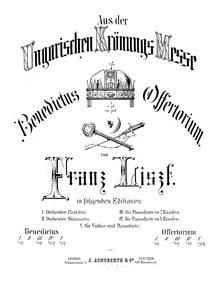 Aus der Ungarischen Krönungsmesse (Hunga... Volume S.381 ; LW.D10 ; S.678 by Liszt, Franz