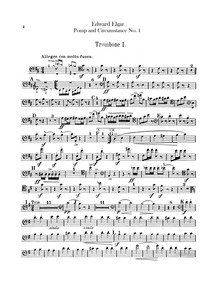 Pomp and Circumstance, Op.39 : Trombone ... Volume Op.39 by Elgar, Edward