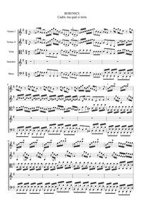 Berenice : Aria of Demetrio: Cadro, ma q... by Araja, Francesco