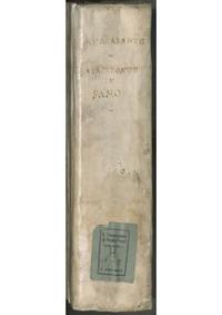 Anacreonte in Samo : Complete Score by Mercadante, Saverio