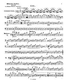 Künstlerleben, Op.316 (Artist's Life) : ... Volume Op.316 by Strauss Jr., Johann