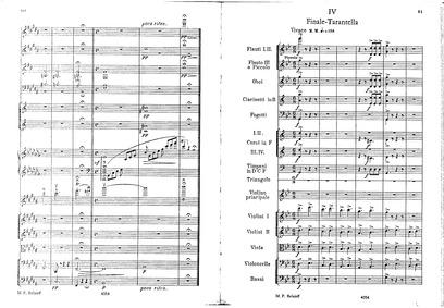 Suite concertante, Op.25 : IV. Finale-Ta... Volume Op.25 by Cui, César