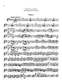 Fra Diavolo, ou L'hôtellerie de Terracin... Volume S18 by Auber, Daniel François Esprit