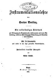 Grand Traité d'Instrumentation et d'Orch... Volume Œuvre 10 by Berlioz, Hector
