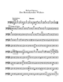 Zweite Walzerfolge : Basses Volume TrV 227a by Strauss, Richard