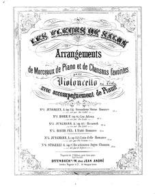 Le mal du pays (Tyrolienne de salonHeimw... Volume Op.117 by Jungmann, Albert