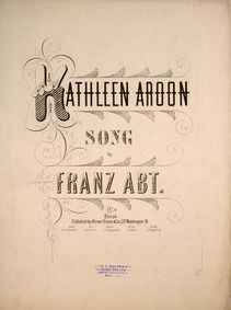Kathleen Aroon : Complete Score by Abt, Franz