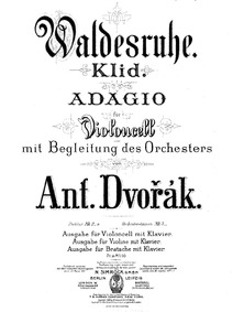 From the Bohemian Forest (Ze Šumavy) : C... Volume Op.68 ; B.133 by Dvořák, Antonín