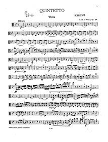 Clarinet Quintet, Op.34 : Viola Volume Op.34 ; J.182 by Weber, Carl Maria von