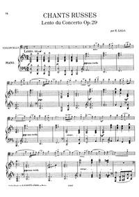Concerto russe (Violin Concerto No.4) : ... Volume Op.29 by Lalo, Édouard