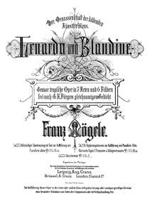Lenardo und Blandine (Grosse tragische O... by Mögele, Franz