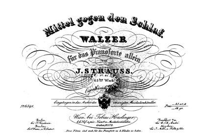 Mittel gegen den Schlaf, Op.65 : Complet... Volume Op.65 by Strauss Sr., Johann
