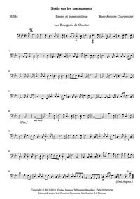 Noël sur les instruments, H.534 : Basse ... Volume H.534 by Charpentier, Marc-Antoine