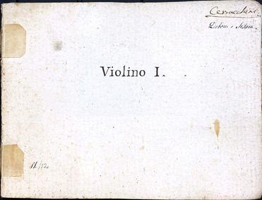 Debora e Sisara : Violins 1, part 3 by Guglielmi, Pietro Alessandro