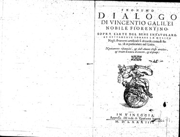 Fronimo: (Dialogo di Vincentio Galilei n... by Galilei, Vincenzo