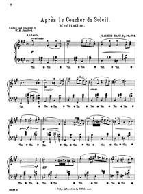 Suite de morceaux pour les petites mains... Volume Op.75 by Raff, Joachim