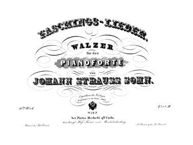 Faschings-Lieder Walzer, Op.11 : Complet... Volume Op.11 by Strauss Jr., Johann
