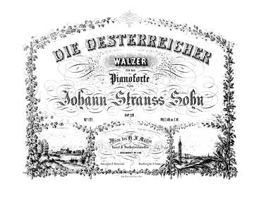 Die Österreicher Walzer, Op.22 : Complet... Volume Op.22 by Strauss Jr., Johann
