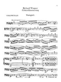 Götterdämmerung, WWV86D (Siegfrieds Tod)... Volume WWV 86D by Wagner, Richard