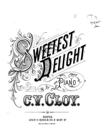Sweetest Delight : Complete Score by Messe, F.W.