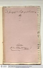 Der Herr sprach zu dem Knechte, GWV 1143... Volume GWV 1143/48 by Graupner, Christoph