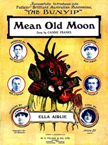 Mean Old Moon : Complete Score by Airlie, Ella